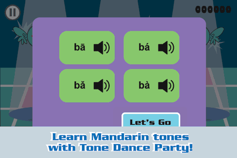 Learn Chinese with Dance Party