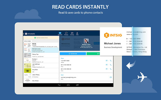 Camcard business card reader for android latest version 79 camcard business card reader for android screenshots reheart