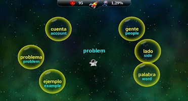 Screenshot of Learn 20000 Spanish Words Fast