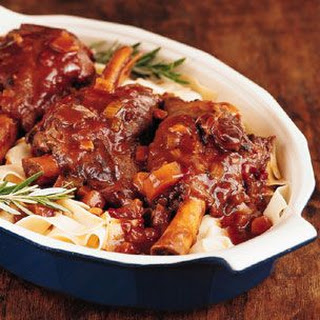 Slow-Cooker Braised Lamb Shanks