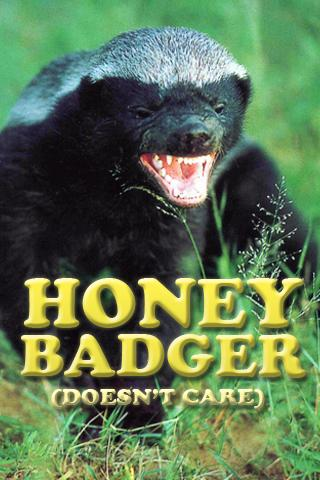 Honey Badger Soundboard