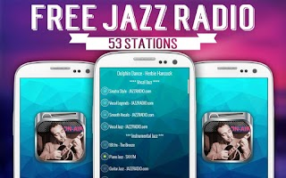 Screenshot of Free Jazz Radio