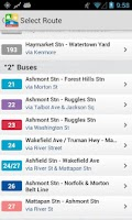 Screenshot of TransitTimes+ Free