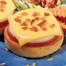 Bacon-Cheese English Muffins