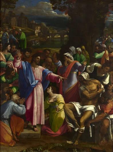 Piombo Sebastiano del, Resurrezione di Lazzaro