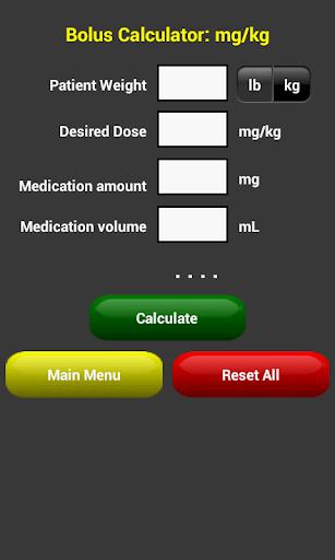 OmniMedix Medical Calculator - screenshot