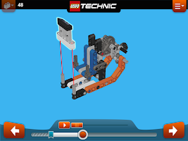 Screenshot of LEGO® Building Instructions