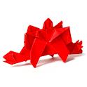 Dinosaur Origami 16