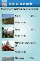 Screenshot of Mumbai tour guide