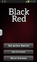 Screenshot of Black Red Keyboard