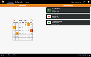 Screenshot of Aspone: Guia de feriados