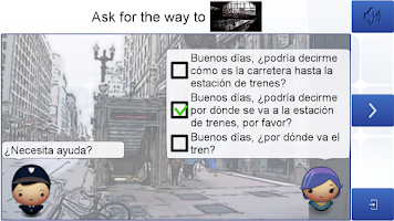 Screenshot of Learn Spanish with Hugo lite