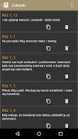 Screenshot of Pismo Święte PL