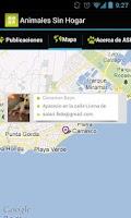 Screenshot of Animales Sin Hogar