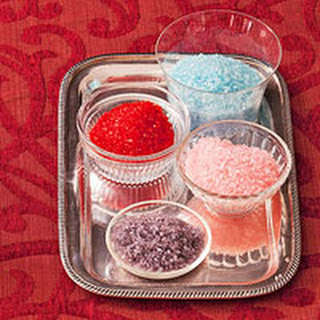 Edible Glitter Sugar Recipes