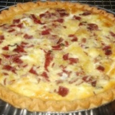 Corned Beef & Sauerkraut Quiche