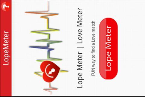 【免費娛樂App】Lope Meter | Love Meter-APP點子