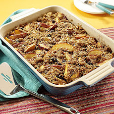 Nectarine-Blueberry Crisp