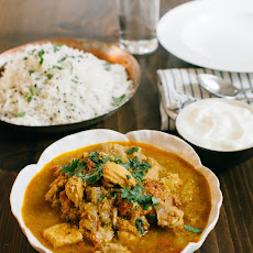 Kerala Coconut Chicken Curry