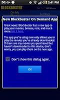 Screenshot of Blockbuster for Motorola