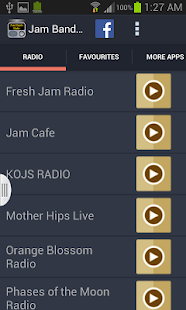 Jam Bands Radio - screenshot