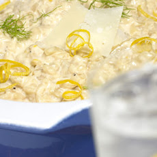 Lemon And Fennel Risotto