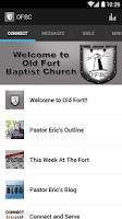 Screenshot of Old Fort Baptist Church