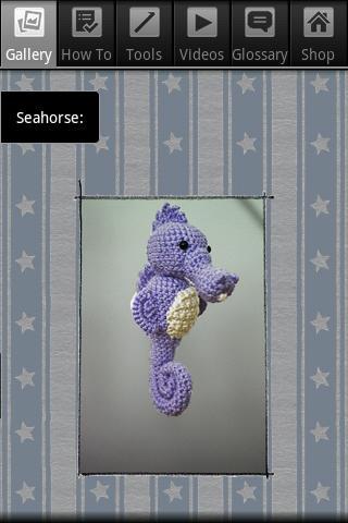 Crochet Seahorse
