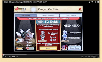 Screenshot of Knights and Dragons Tips/Hints
