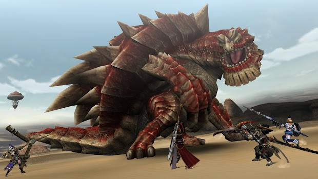 Monster Hunter Frontier G coming to the PS Vita in the autumn