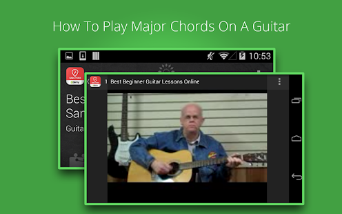 Guitar Lessons - screenshot