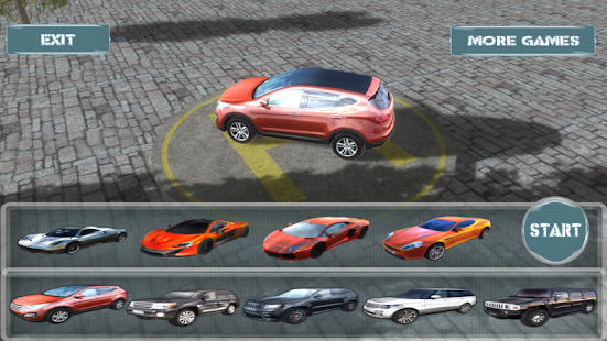 SUV vs Super Car 3D Race Sim+ - screenshot