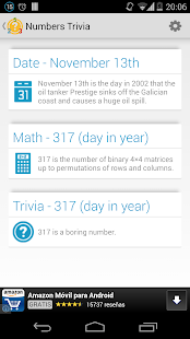 Numbers Trivia - screenshot