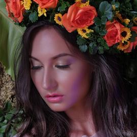 Lativia by Ferdinand Ludo - People Portraits of Women ( sunstar photo contest, sleepy mode, model, sept 2014 )