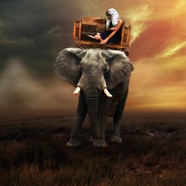 by Doni Andriady - Digital Art Animals