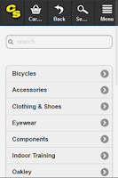 Screenshot of Cyclestore