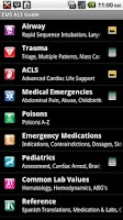 Screenshot of EMS ACLS Guide