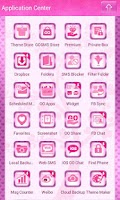 Screenshot of Cute Love Owls Theme Go SMS