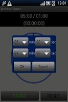 Screenshot of Interval Timer