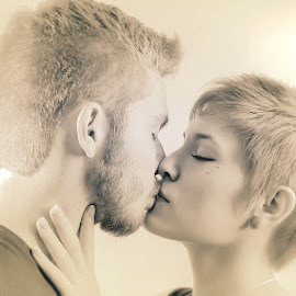 The Kiss of Love by Matt Cronin - People Couples ( love, kissing, couple, romance )