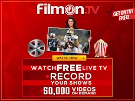 Screenshot of FilmOn EU Live TV Chromecast