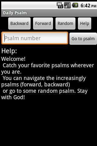 Daily Psalm