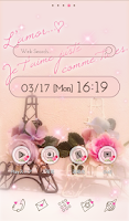 Screenshot of Cute wallpaper★Petite Paris