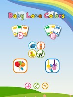 Screenshot of Baby Love Colors
