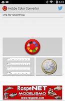 Screenshot of Hobby Color Converter