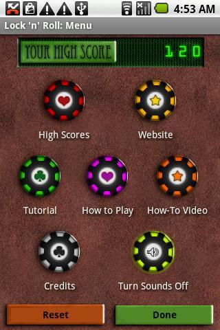 Lock n Roll Pro - - screenshot