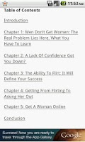 Screenshot of How to Get Women