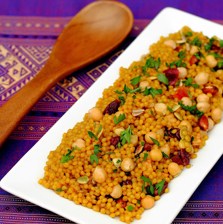 Curried Cranberry Couscous Pilaf Recipe | Yummly