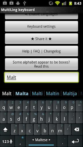 Maltese Keyboard plugin