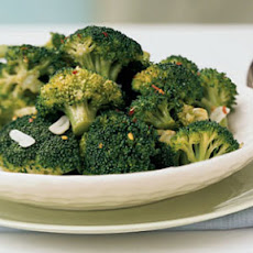 Broccoli with Red Pepper Flakes and Toasted Garlic